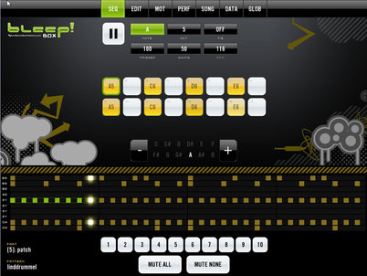 BleepBox for ipad