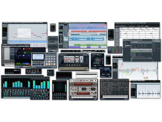 A collage of Cubase 6.5's new features: click the image for more screenshots.