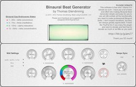 binaural beat generator