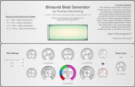 binaural beat generator