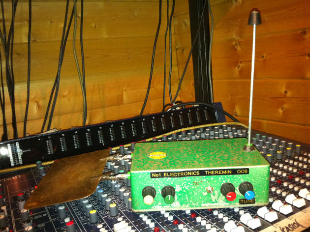 Theremin and mixer