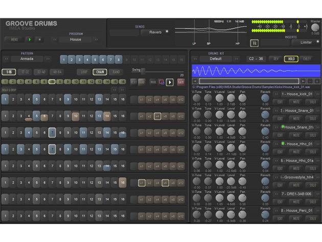Imea Studio Groove Drums