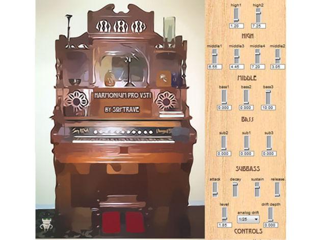 Softrave Harmonium Pro