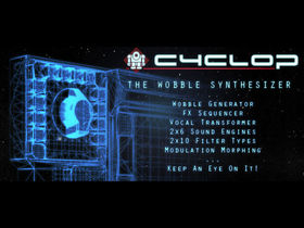 "Sugar Bytes announces Cyclop plug-in ""wobble"" synth"