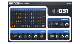 "Audio Damage Bitcom: the ""bit-bashing step sequencer with attitude"""