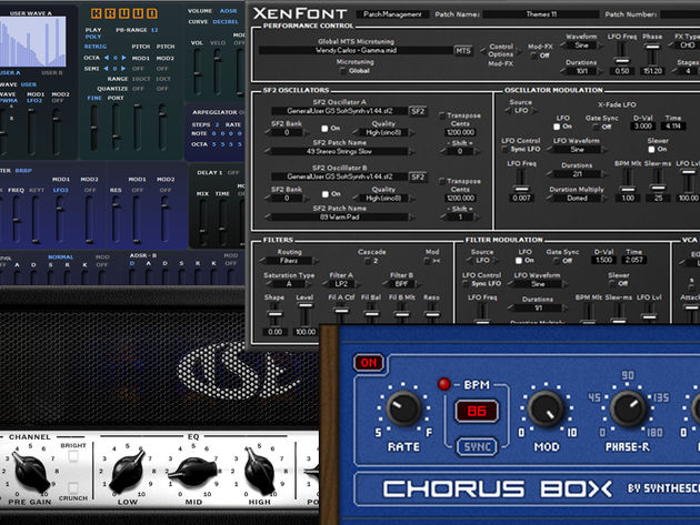 Freeware synths and effects