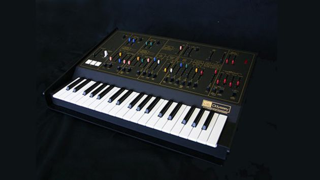 A prototype image of Korg's revived ARP Odyssey