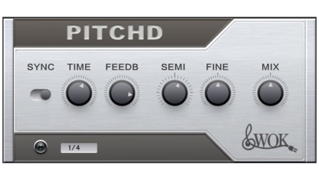 Pitchd: a free, tuneable delay.
