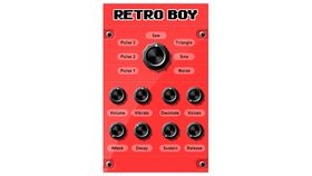 Retro Boy: free VST plugin Chiptune synth