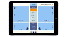 Stereo designer: stereo shaper and M/S processor for iPad
