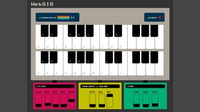 WebSID: the Commodore 64 SID-style synth you can play in your browser