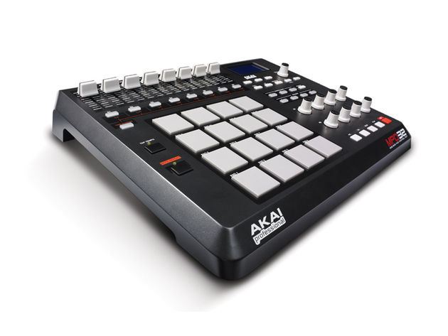 The MPD32 gives you MPC-style control over your favourite software.