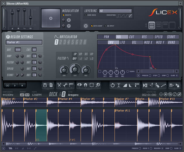 Slicex is an advanced beat slicer.