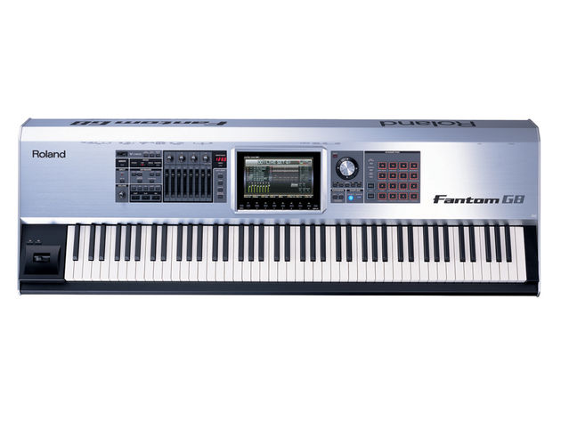 Computer-free music production is possible with the Fantom-G8.