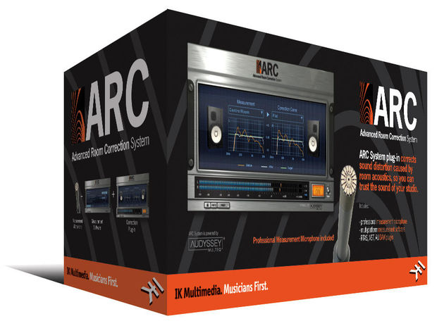 The ARC System comes with a mic and software
