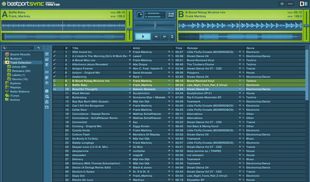 Manage and mix your music in Beatport Sync