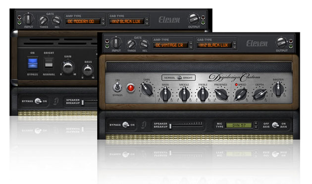 Eleven comes with plenty of presets, though you can also create your own custom tones