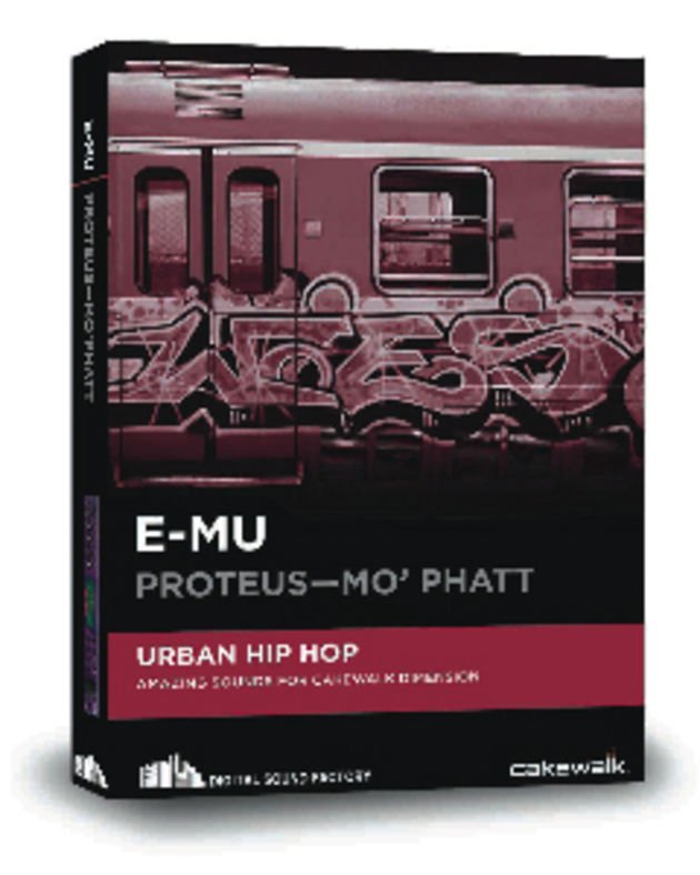Mo'Phatt is one of six E-MU modules now available for Dimension Pro and LE