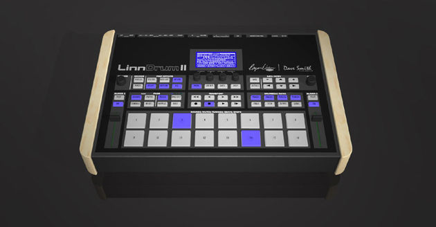 Say hello to the all-digital LinnDrum II.