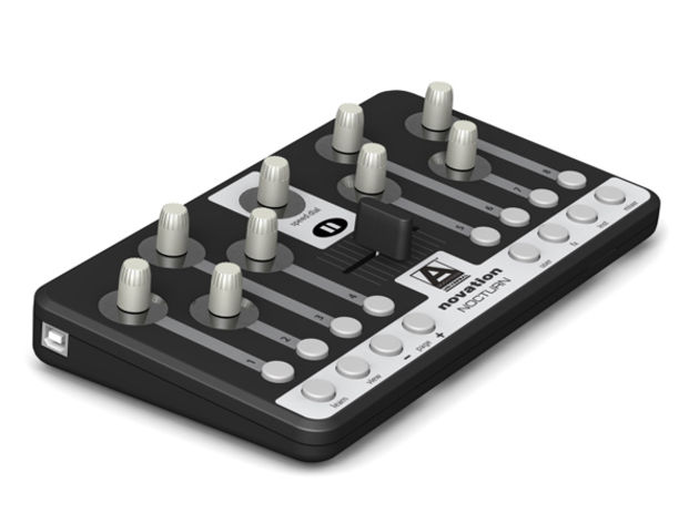 Add some tactile control to your software setup with the Nocturn.