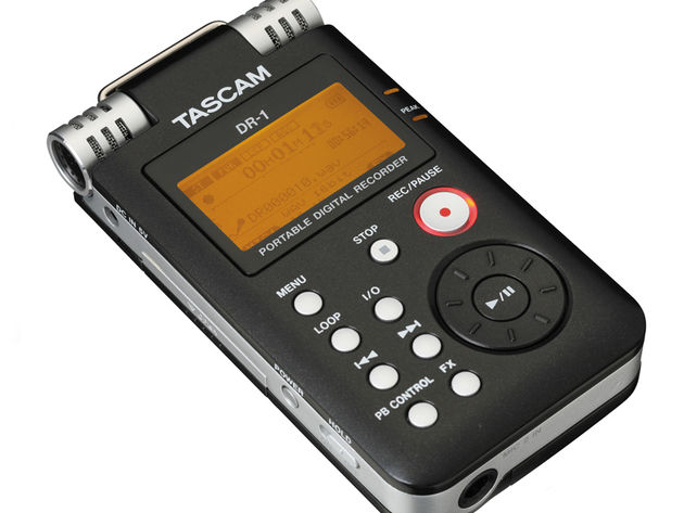 The DR-1 is just one of many portable recorders currently fighting for your buck.