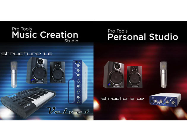 There are two bundles on offer, both based around Pro Tools LE 7.4