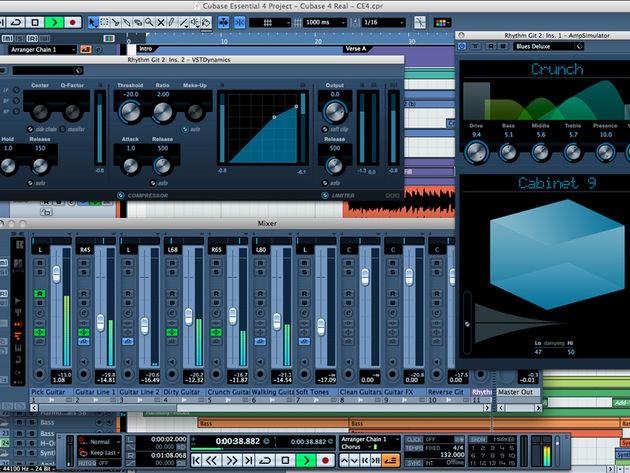 A streamlined version of Cubase 4