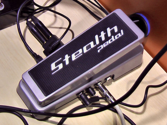 StealthPedal does audio and MIDI.