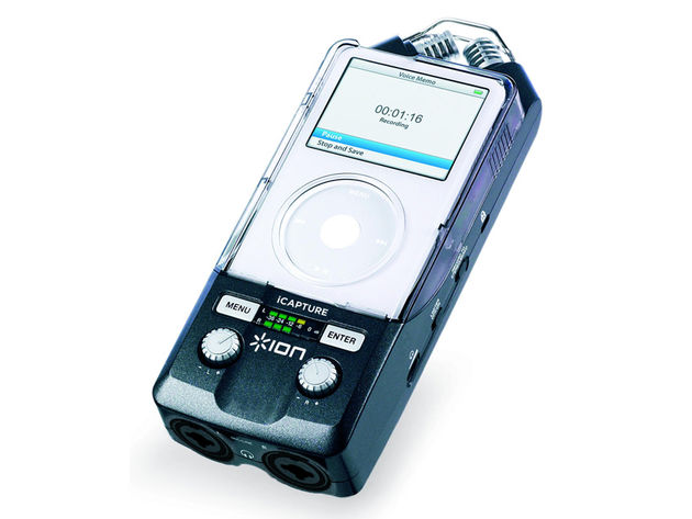 The iCapture could be a viable alternative to a dedicated handheld recorder.