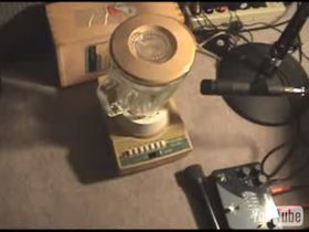 1970s blender becomes musical instrument
