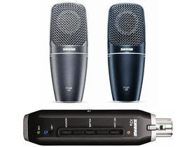 Shure unveils three USB mic products