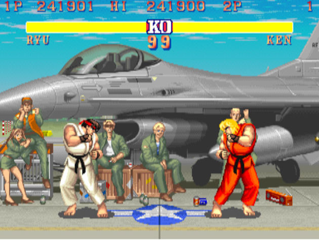 Street Fighter II: we still remember the special moves.