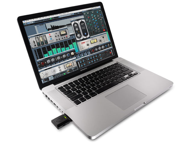 The UAD2 Solo/Laptop gives you oodles more plug-in power.