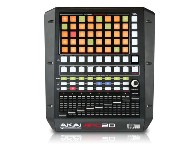 The APC20 was creating in collaboration with Ableton.