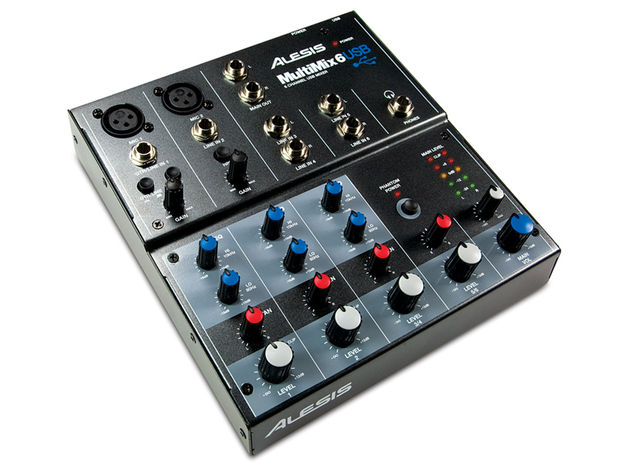 The MultiMix 6 USB gives you six input channels to play with.