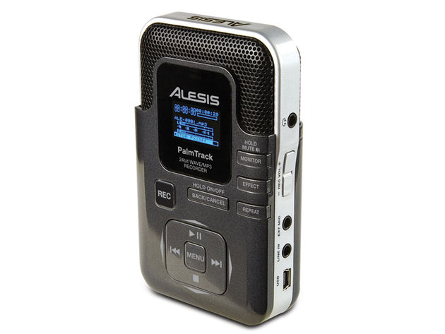 Alesis Palmtrack: the latest addition to the handheld recorder market.