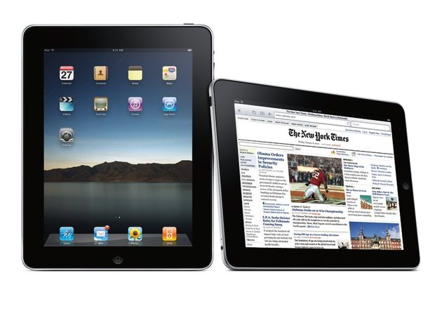 The iPad will land in the UK in three weeks' time.