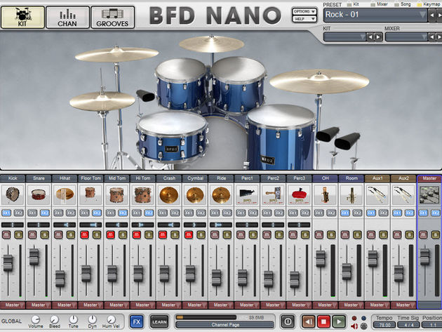 BFD Nano is based on the BFD 2 engine.