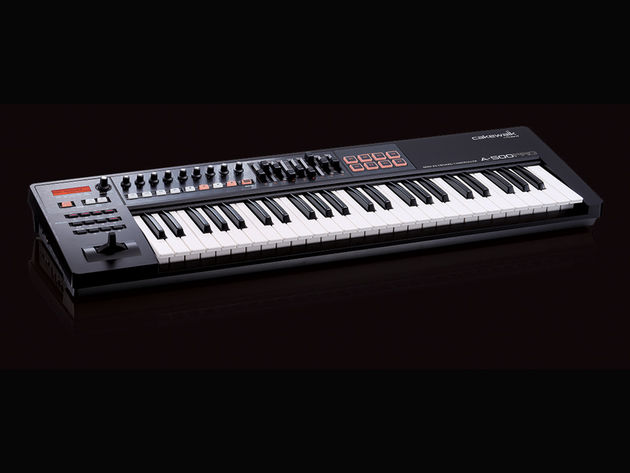 The A-500 Pro has 49 keys.