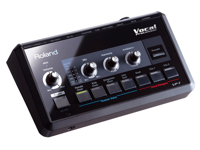 The VP-7 uses Roland's Vocal Designer technology.