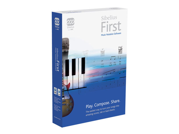 Sibelius First borrows some of its features from Sibelius 6.
