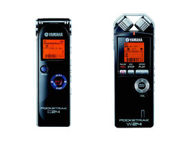 NAMM 2010: Two new Pocketrak recorders from Yamaha