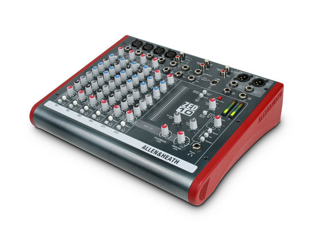 The ZED-10 is designed for live performance and studio use.