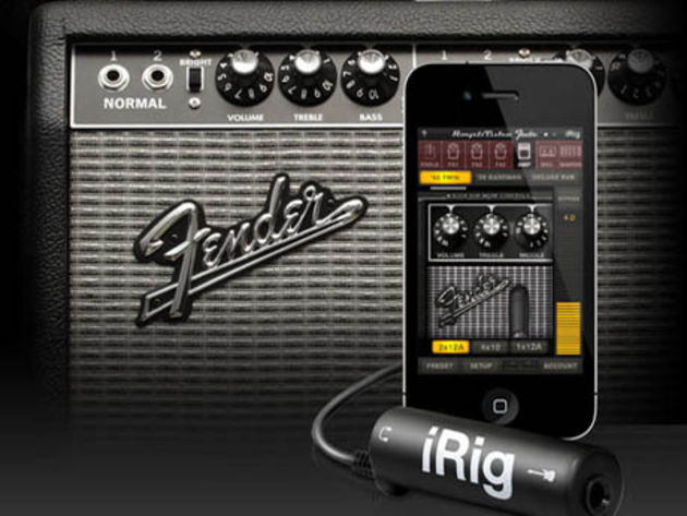 IK Multimedia AmpliTube Fender for iPhone