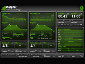 New Audio Damage synth: Phosphor