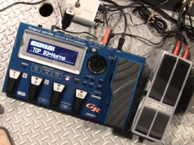 NAMM 2011 VIDEO: Roland GR-55 Guitar Synthesizer demo