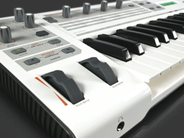 M-Audio Venom: the new synth you're not really supposed to know about yet.