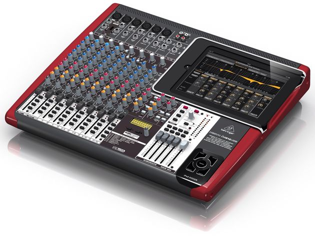 Like all its new XENYX iX mixers, Behringer's iX1642USB interfaces directly with the iPad.