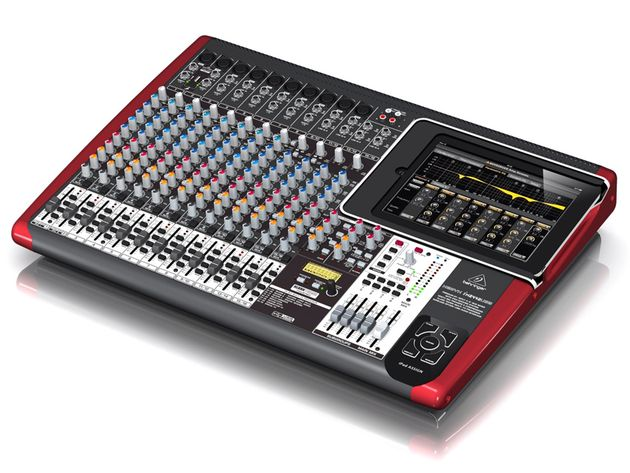 Behringer's iX2442USB features a XENYX preamp offering 130 dB dynamic range.