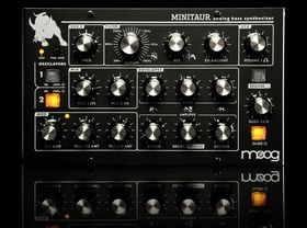 Moog Minitaur first look video
